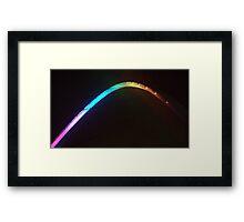 Close up Millenium Bridge Framed Print