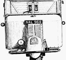 BR 3 wheel lorry by Woodie