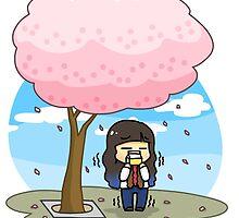 Cherry blossom by oricca