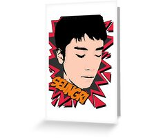 Big bang seungri Greeting Card