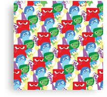 Inside Out Pattern Canvas Print