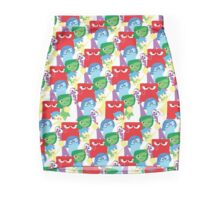 Inside Out Pattern Pencil Skirt