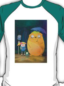 Adventure Time - Totoro Version  T-Shirt
