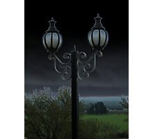 Mystery of the Lamp Photographic Print