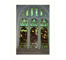 Window #3  St Peter's Church Art Print