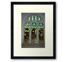 Window #3  St Peter's Church Framed Print