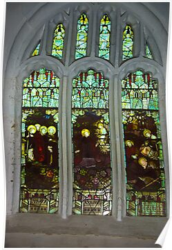 Window #3  St Peter's Church by Trevor Kersley