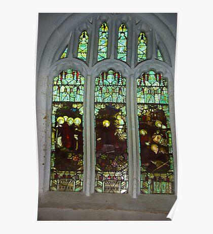 Window #3  St Peter's Church Poster