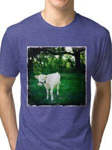 Just Bully White Tri-blend T-Shirt
