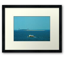 Touring Cape Ann, The Watery Way Framed Print