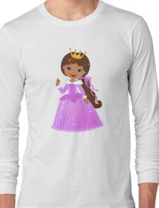 African American  Beautiful Princess Long Sleeve T-Shirt