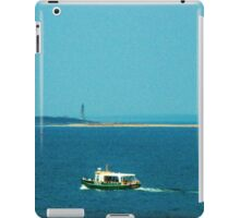 Touring Cape Ann, The Watery Way iPad Case/Skin