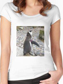 Humboldt Penguin Women's Fitted Scoop T-Shirt