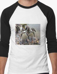 Humboldt Penguin Gang Men's Baseball ¾ T-Shirt