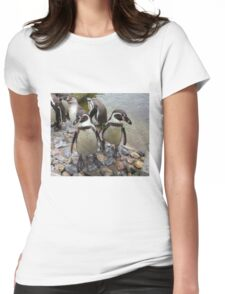 Humboldt Penguin Gang Womens Fitted T-Shirt