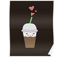Iced coffee Love Poster