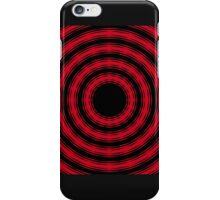 In Circles (Red Version) iPhone Case/Skin