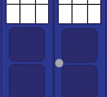 The Tardis by anniArtist39