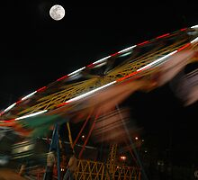 MOON & MERRY- GO- ROUND by RakeshSyal