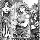 Celtic Warrior by morgansartworld