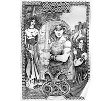 Celtic Warrior Poster