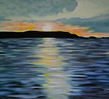 Sunset at Balnakeil by Kirsty  Holton