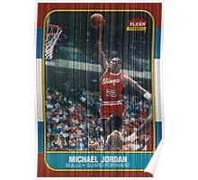 Mj Rookie Card Poster