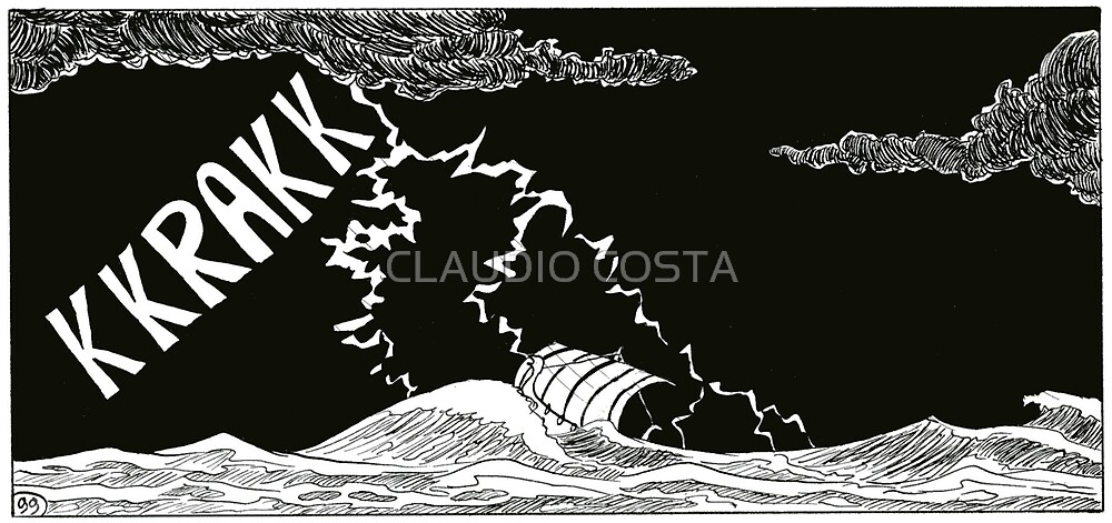 """Vikings  """"the storm"""" by CLAUDIO COSTA"""