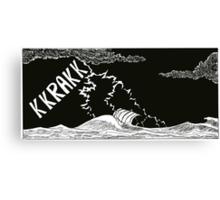 "Vikings  ""the storm"" Canvas Print"