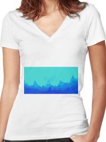 Blastoise... Women's Fitted V-Neck T-Shirt
