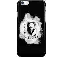 Alan Rickman Fan-Design #3 iPhone Case/Skin