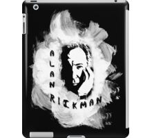 Alan Rickman Fan-Design #3 iPad Case/Skin