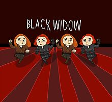 Run! Black Widow Run! by goddamngroose