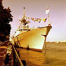 HMCS Ville de Quebec 2 by Barry W  King
