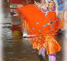 Young Dance Contestant ( Pow Wow Series) by Dyle Warren