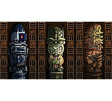Star Wars Tikis Photographic Print