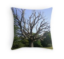My Grandmother Tree has died Throw Pillow