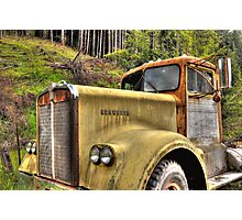 old KW near Ashland Or. Photographic Print