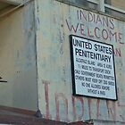 Alcatraz Prison Welcome Sign by longaray2