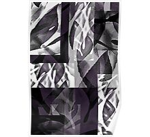 Fatsia Japonica Abstract Design by Jenny Meehan  Poster