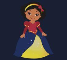 Dark-skinned Snow White Kids Clothes