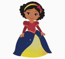 Dark-skinned Snow White Kids Tee