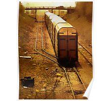 Underground Train Poster