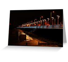 Marine Highway from Fishermans Quay, Carrickfergus ... Greeting Card