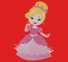 Funny Princess in a pink dress Kids Clothes