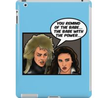 You Remind Me of the Babe iPad Case/Skin