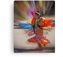 Little Fringe Dancer Canvas Print