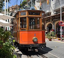 Tram in Soller by Chris Monks