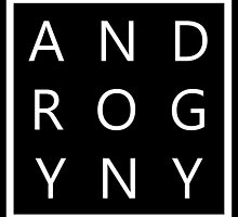 ANDROGYNY. by loudandqueerco