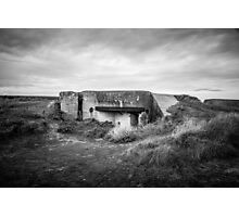 Anti Tank Bunker at Lewis Tower Photographic Print